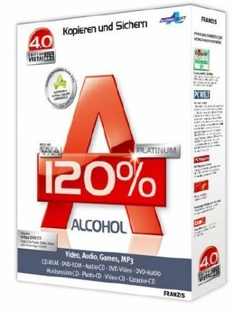Alcohol 120% 2.0.1.2033 Retail XCV Edition [2010]