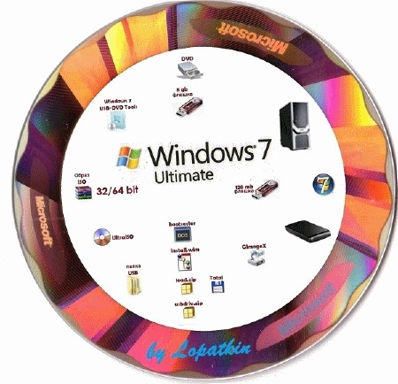 Windows 7 Ultimate SP1 RC x86-x64 RU Full, Lite, Mini Universal