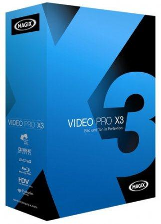 MAGIX Video Pro X3 10.0.7.2 (German/Russian)
