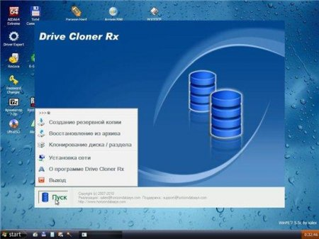 Live CD Windows'7 5.5m (mini) by xalex (12.01.2011)