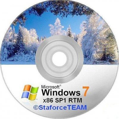 Windows 7 Build 7601 (x86) SP1 (RTM) DE-EN-RU (21/01/2011) © StaforceTEAM
