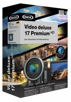 MAGIX Video deluxe 17 Premium HD v 10.0.7.2 + RUS